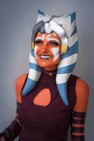 Ahsoka Tano Cosplay (Clone Wars) smile by mblackburn
