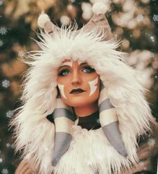 Ahsoka Tano (Winter Coat) Cosplay 2 by mblackburn