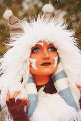 Ahsoka Tano (Winter Coat) Cosplay 3 by mblackburn