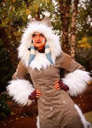 Ahsoka Tano (Winter Coat) Cosplay 7 by mblackburn