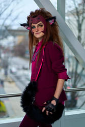 Catra Princess Prom Cosplay (She-Ra) 2 by mblackburn