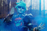 Will-o-the-Wisp Tracer Cosplay
