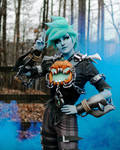 Will-o-the-Wisp Tracer Cosplay 3