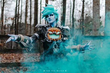 Will-o-the-Wisp Tracer Cosplay 4