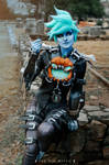 Will-o-the-Wisp Tracer Cosplay 5