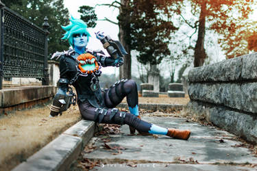 Will-o-the-Wisp Tracer Cosplay 6