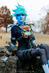 Will-o-the-Wisp Tracer Cosplay 8