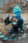 Will-o-the-Wisp Tracer Cosplay 9