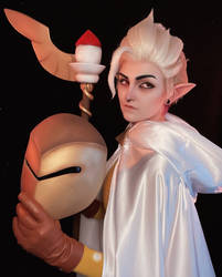Golden Guard Owl House Cosplay