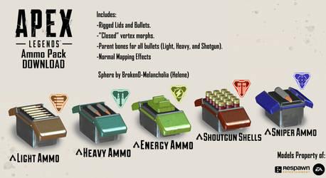 [MMD Apex Legends] Ammo Pack DL+