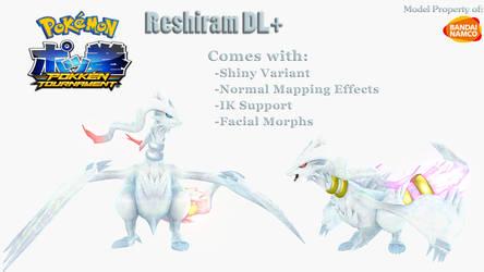 [MMD Pokemon] Reshiram DL+