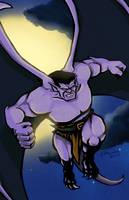 Goliath - Gargoyles by aaronprovost