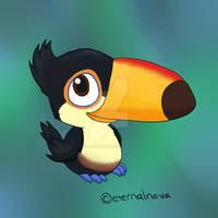 Rio: Baby toucan Carlos