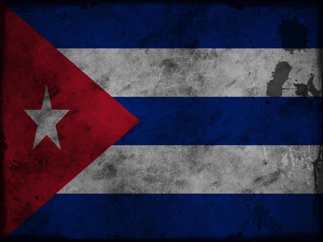Bandera De Cuba Grunge By Dexillum On DeviantArt