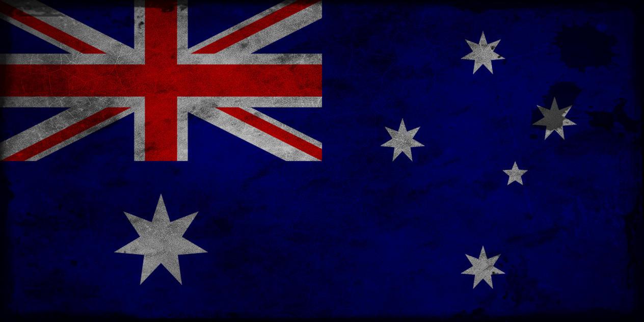 Bandera De Australia Grunge By Dexillum On Deviantart