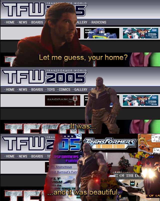Transformersworld 2005 funnies meme/tribute by Backtothefryingpan