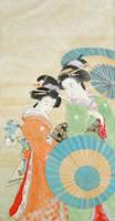 Nihonga: Two Beauties by catherinejao