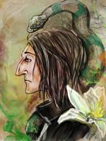 Slytherin by sassynails