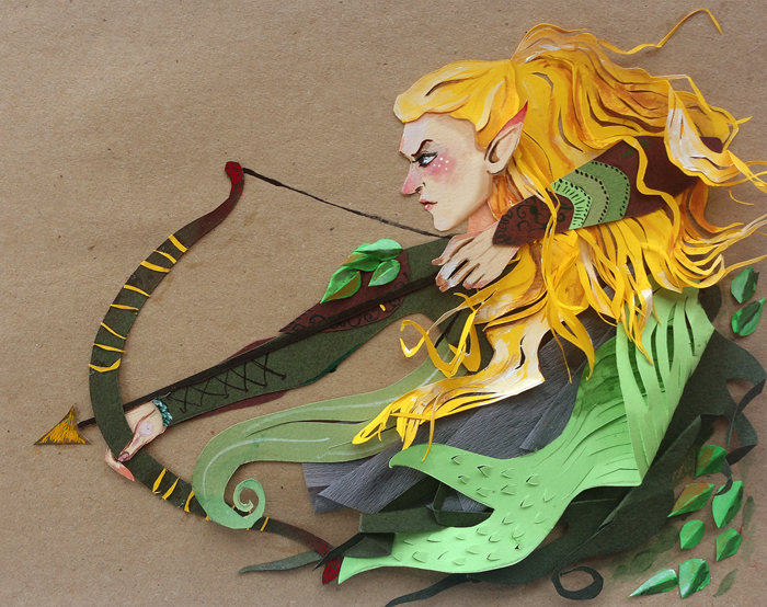 Glorfindel by sassynails