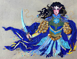 Fingon the Valiant by sassynails