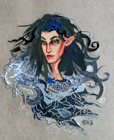 Melian the Maia by sassynails