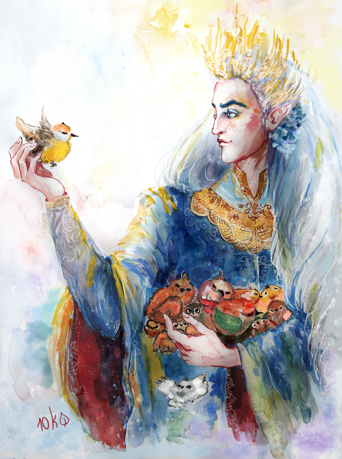 Manwe, the Lord of birbs by sassynails
