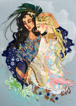 Galadriel and Melian