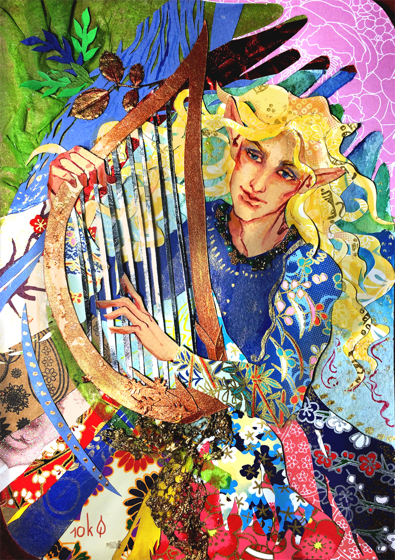 Finrod Tarot Card by sassynails