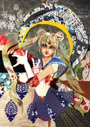 Star Sailor Moon Tarot card by sassynails