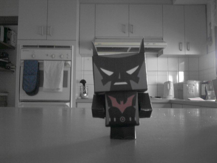 wallpaper craft batman: Cubeecraft-Batman Beyond By Paperafting On DeviantArt