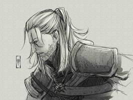 Geralt by Rey-D-Swords