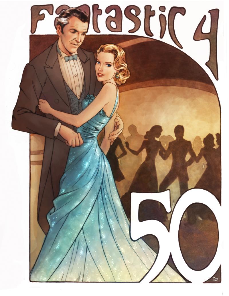Fantastic 50th Anniversary by studiomia
