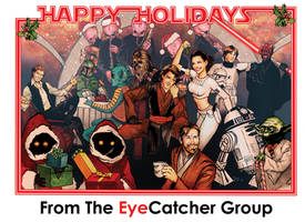 A Very Jedi Holiday by studiomia