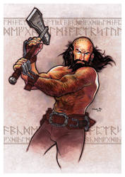 Dwalin, son of Fundin by studiomia