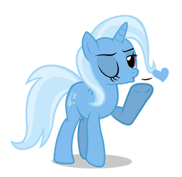 Trixie loves you