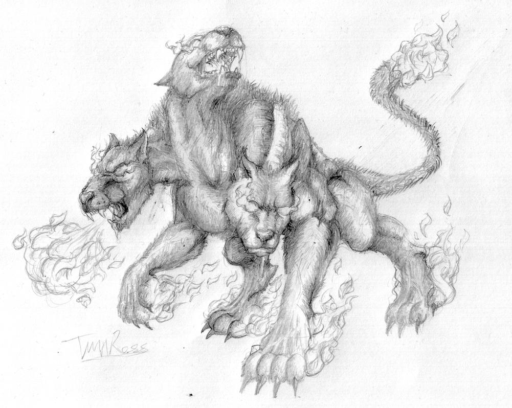 greek mythology and cerberus In greek and roman mythology, cerberus was said to have been the offspring of two monsters, typhon (a fire-breathing serpent) and echidna (commonly portrayed as an odd juxtaposition of beautiful woman and deadly serpent.