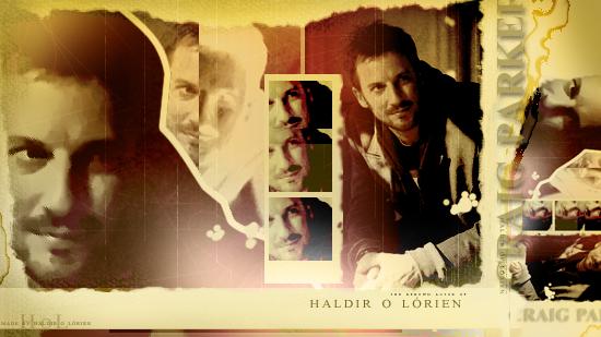 Craig Parker Collage by Haldir-o-Lorien