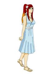 Kano Summer Dress by kezzymo