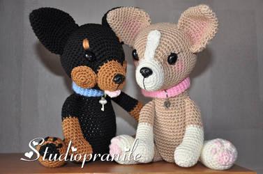 Handmade Chihuahua's by Studiopranile