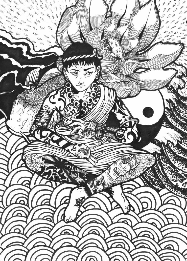 yakuza monk