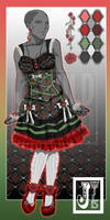 Outfit Adopt: Loli Rose [Paypal Sale OPEN]