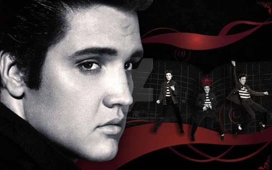 Elvis- Vector Portrait