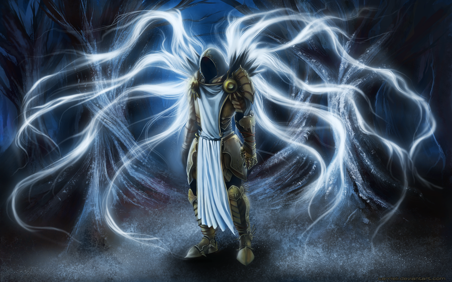 Tyrael by Carrieli