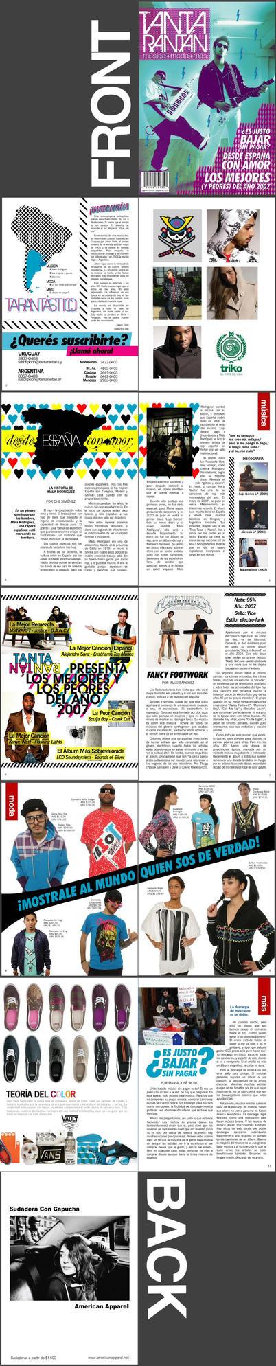 Revista Tantarantan by hamstarr