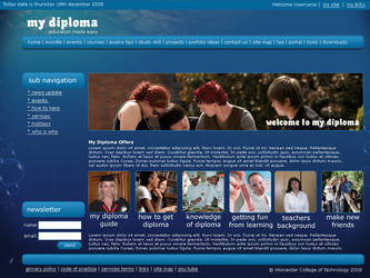 My Diploma Portal by ziggyrafiq