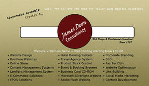 James Deon Consultancy Business Card