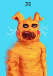 Bizarre Pikachu