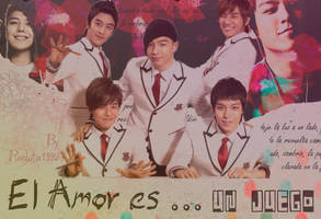 El amor es ... un juego (Wallpaper) by rozhita1992