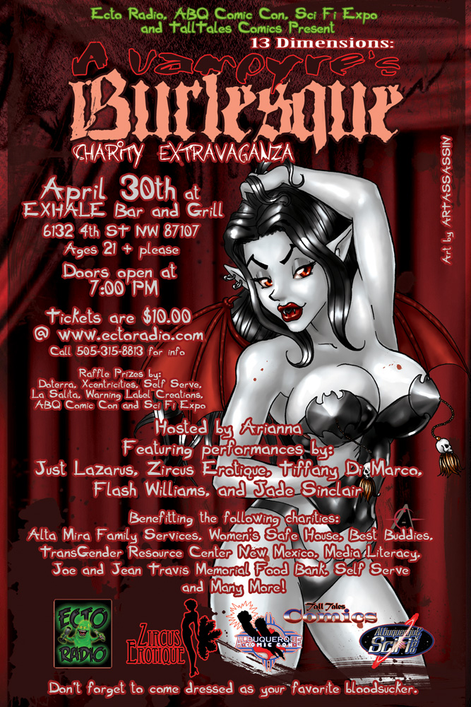 Vampyre Burlesque final ad by Artassassin