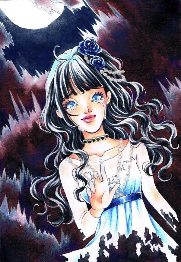 ACEO #030 + 031 ~ Her Sacrifice by Vanilla-Mai